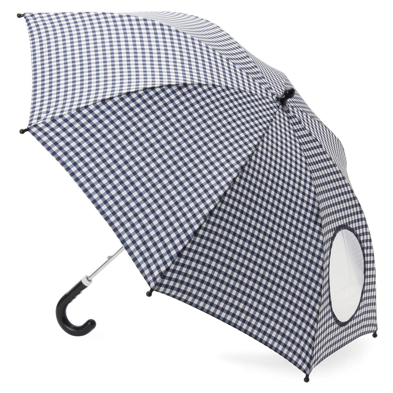 ポリエステルお名前欄付きまるまど傘