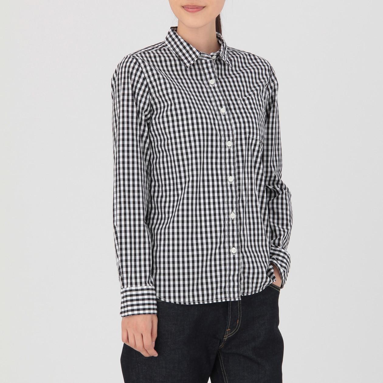 無印おすすめシャツ②シンプル白シャツ