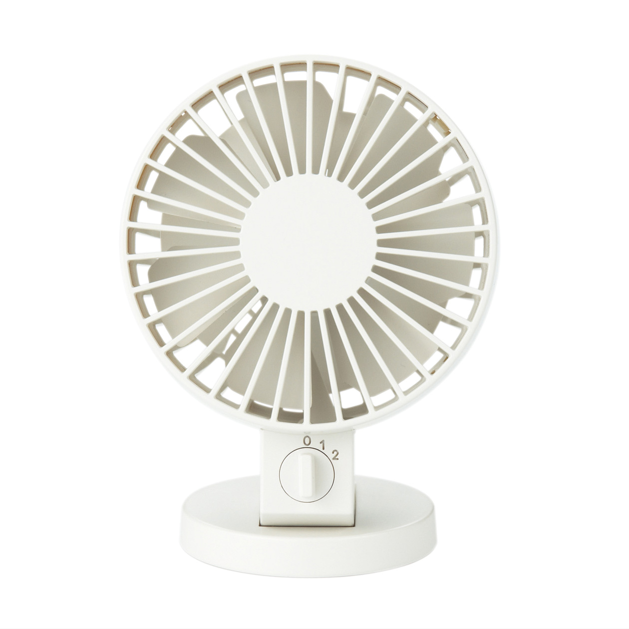 Usb Desk Fan Low Noise White