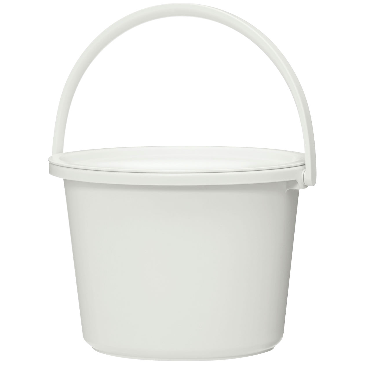 (OVERSEAS SPEC) POLYPROPYLENE BUCKET / WITH LID