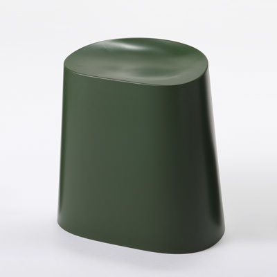 ポリプロピレンスタッキングスツール・グリーン 約幅43×奥行34×高さ45cm