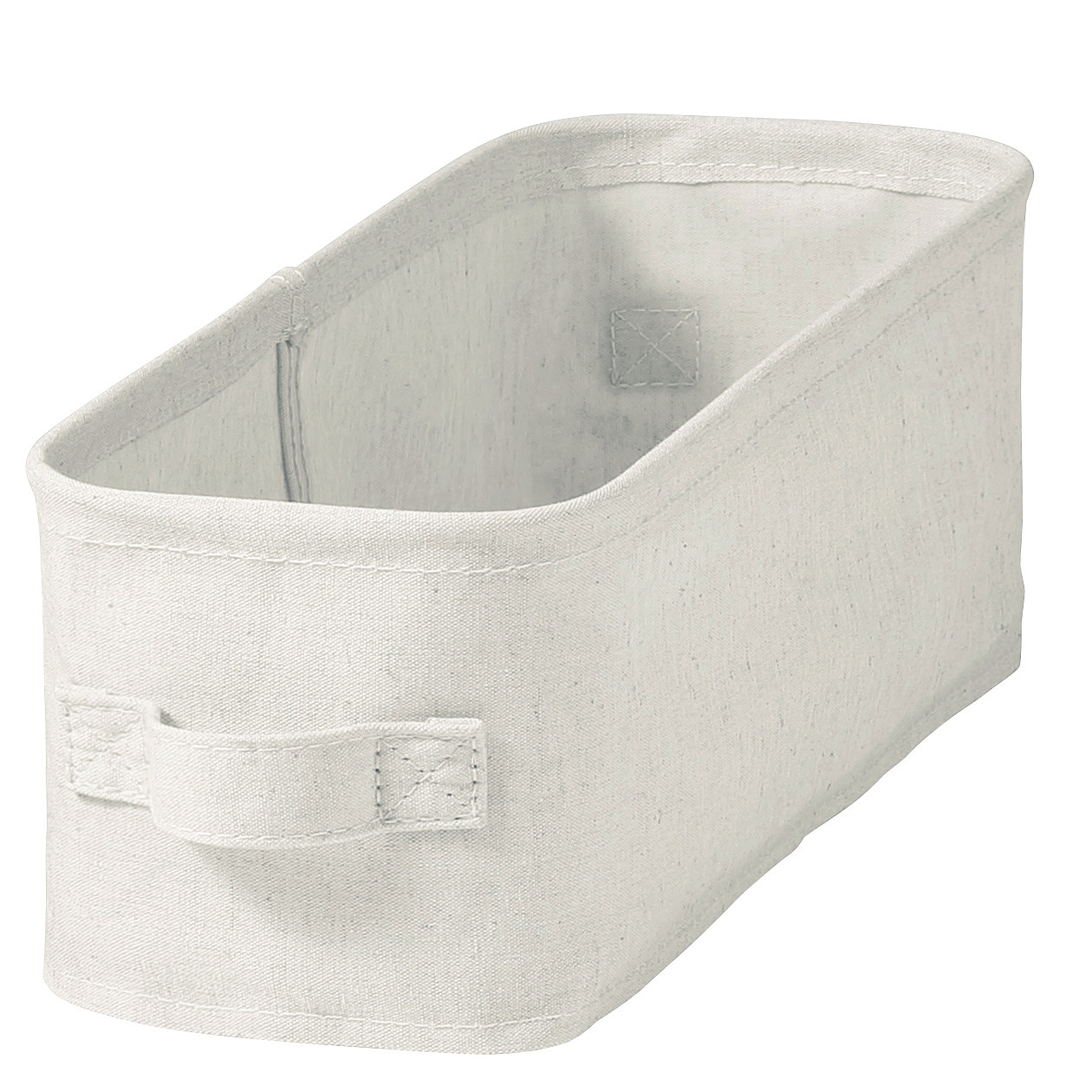 COTTON LINEN POLYESTER SOFT BOX / SHALLOW / HF