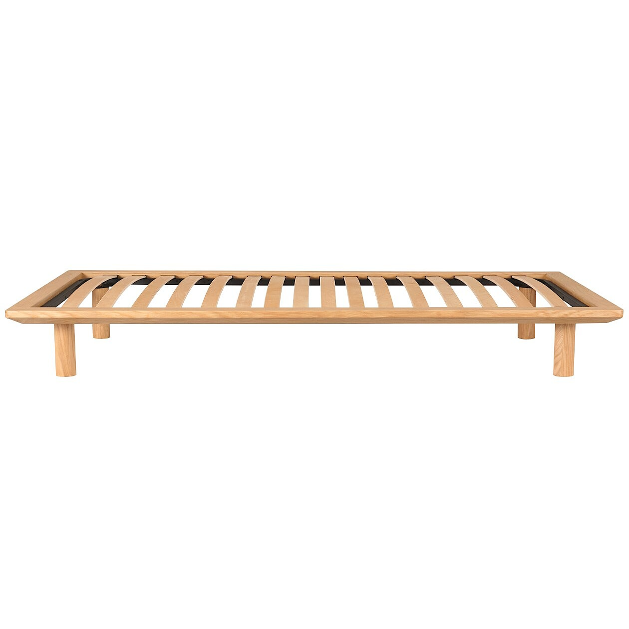 oak wood bed frame
