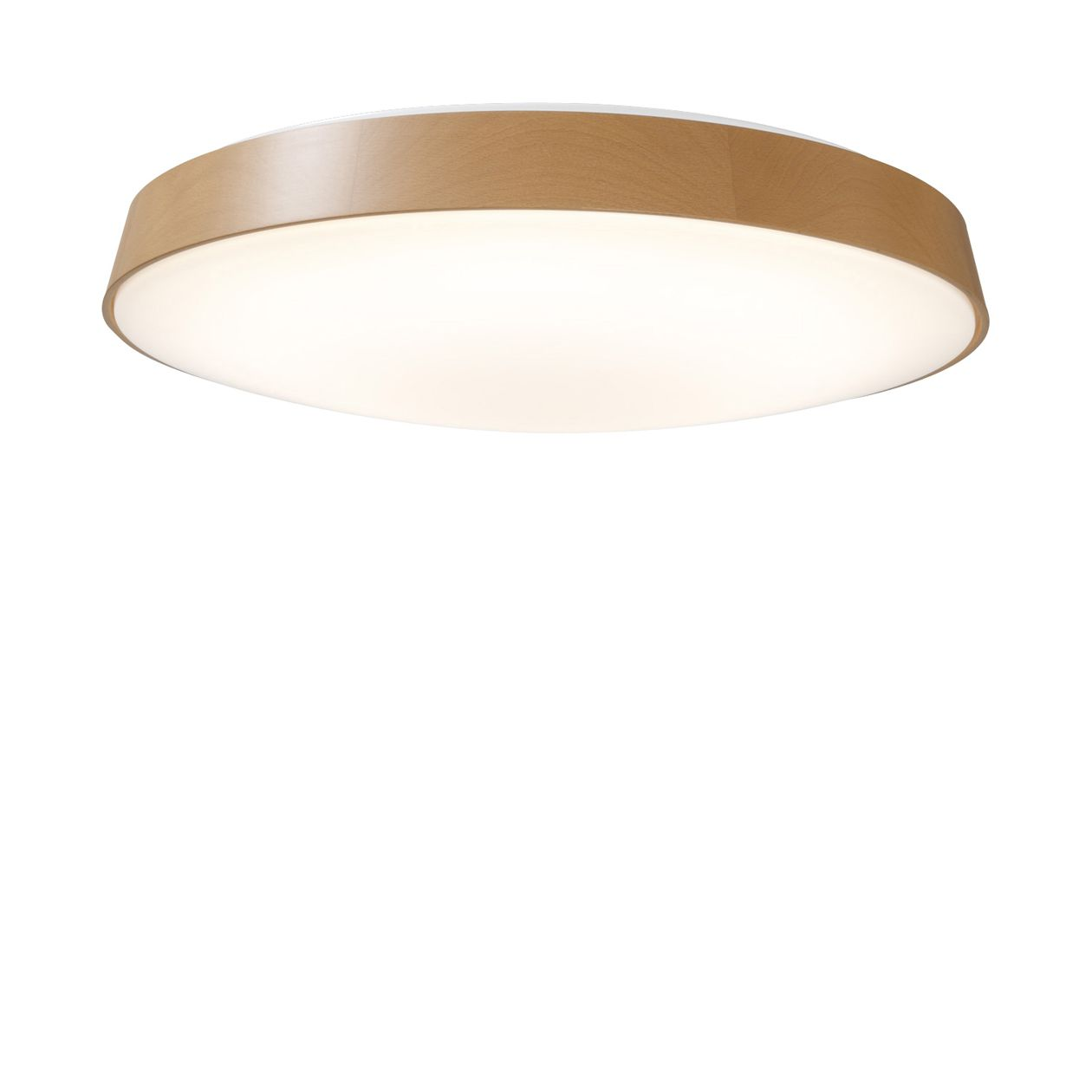 LED木製シーリングライト・調光調色機能付・ダークブラウン ナチュラル