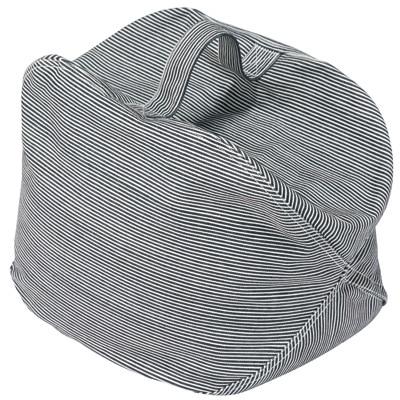 綿ヒッコリーストライプ座るパイプクッション
