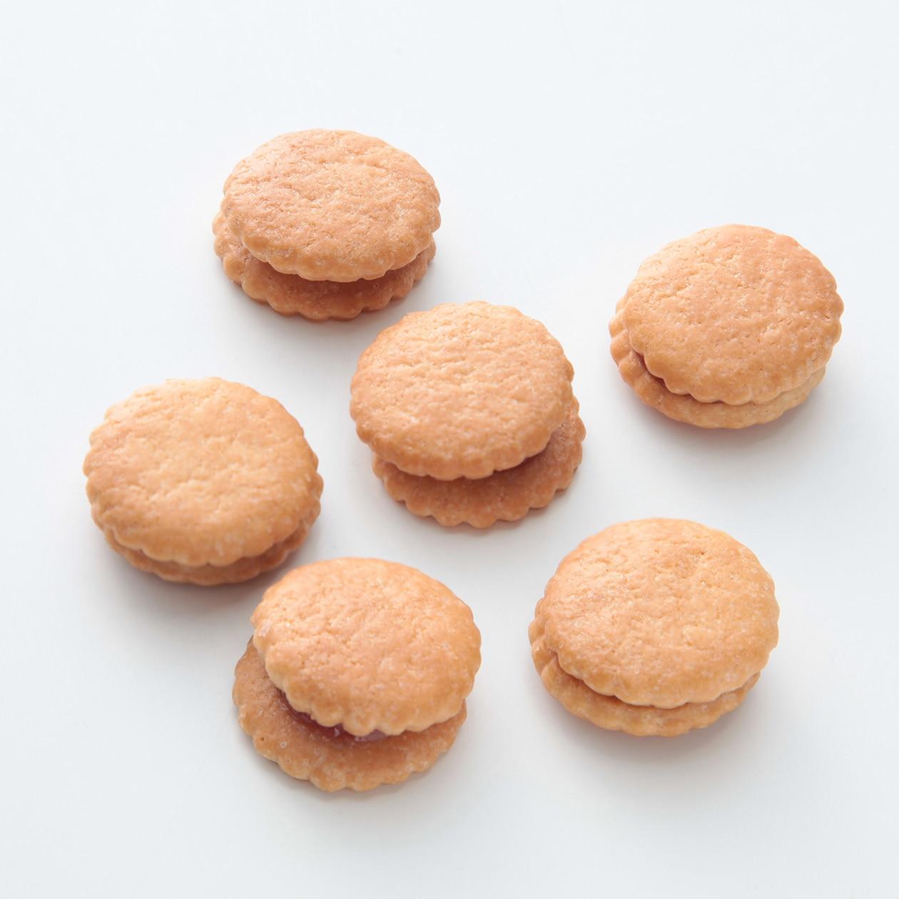 無選別 りんごジャムサンドクッキー