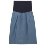 オーガニックコットンデニム産後もはけるスカート