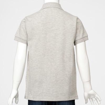 無印良品 | オーガニックコットン鹿の子半袖ポロシャツ(キッズ)キッズ110・オフ白 通販