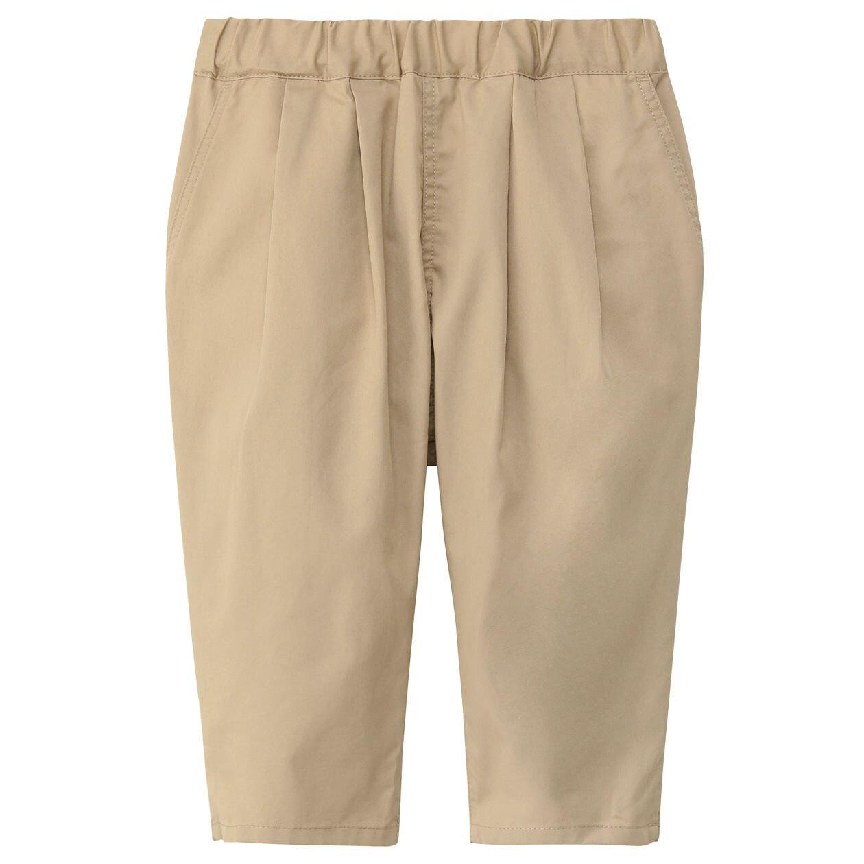 高密度織り六分丈パンツ(キッズ)