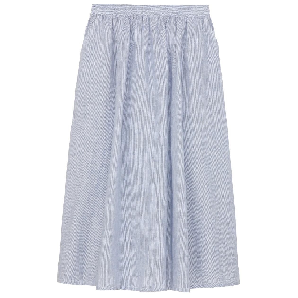 フレンチリネンイージーマキシスカート