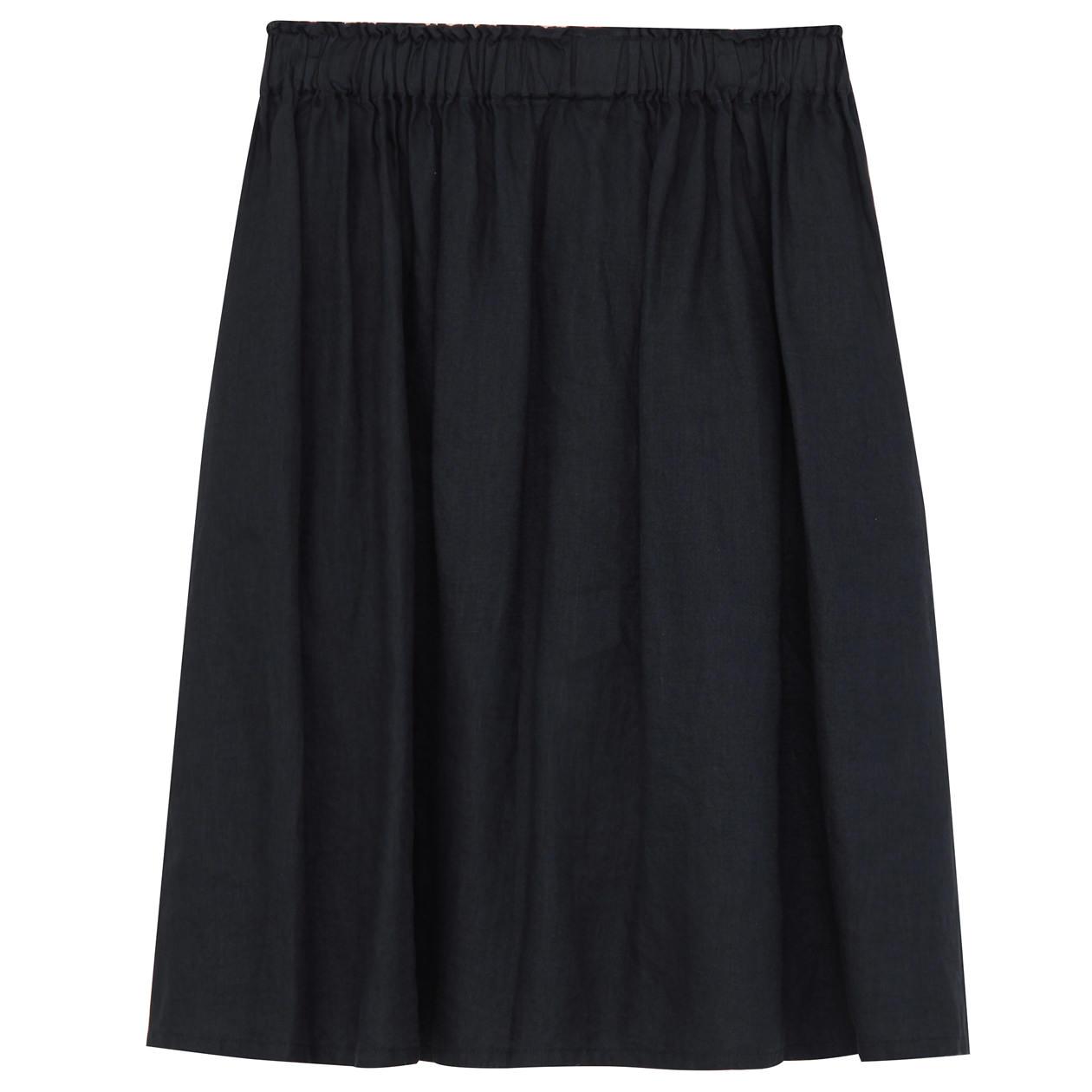 フレンチリネンイージーギャザースカート