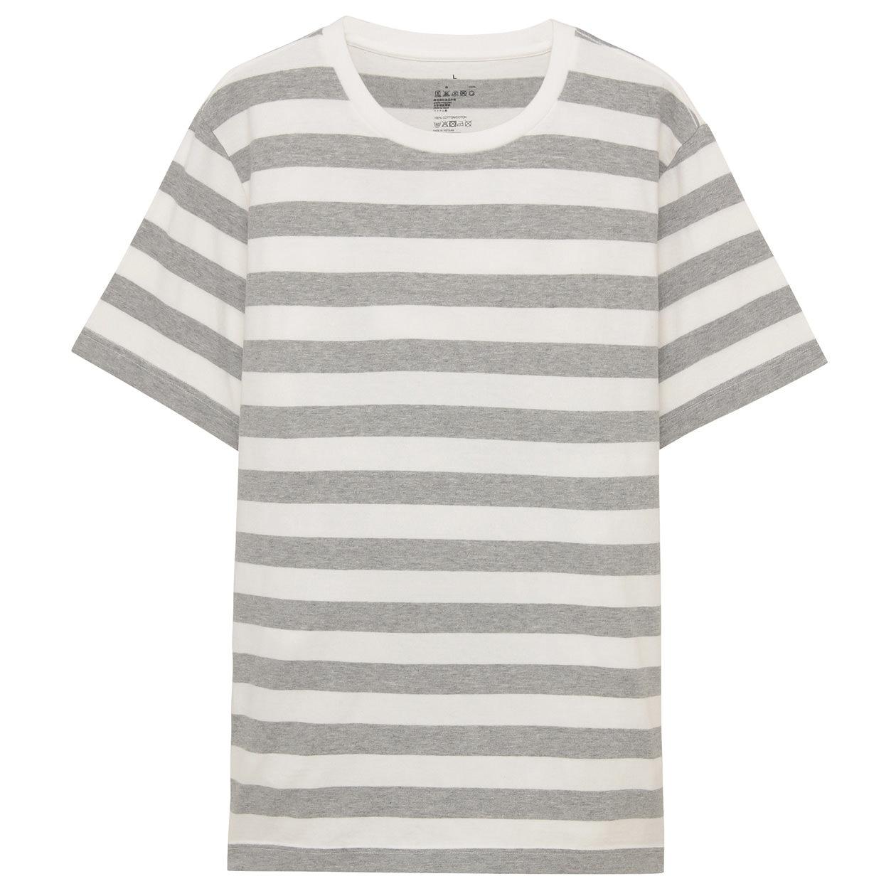 オーガニックコットンボーダーTシャツ
