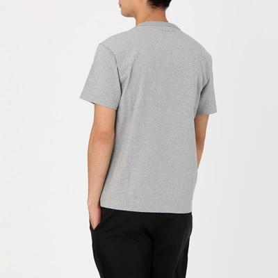 無印良品 | オーガニックコットン太番手クルーネック半袖Tシャツ紳士S・オフ白 通販