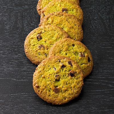 宇治抹茶とチョコのクッキー
