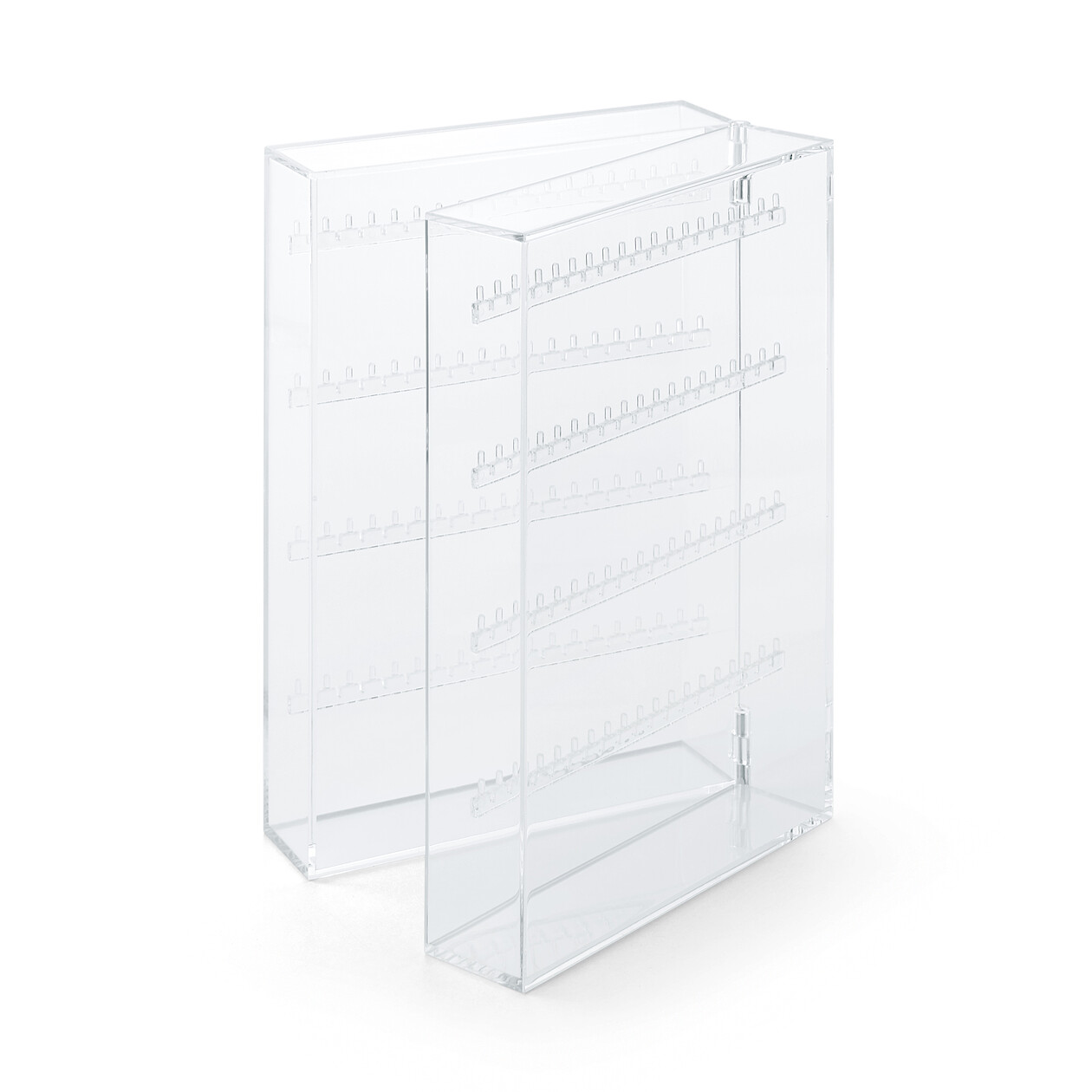 RoomClip商品情報 - アクリルネックレス・ピアスケース・見開きタイプ