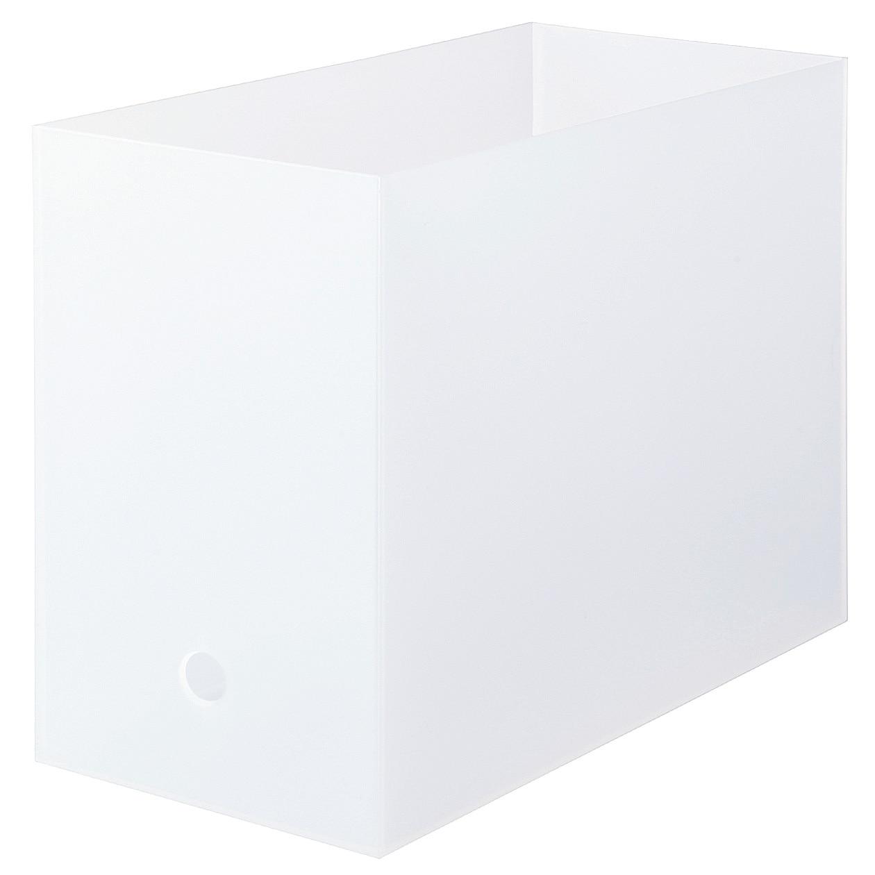 【まとめ買い】ポリプロピレンファイルボックス・スタンダードタイプ・ワイド・A4用