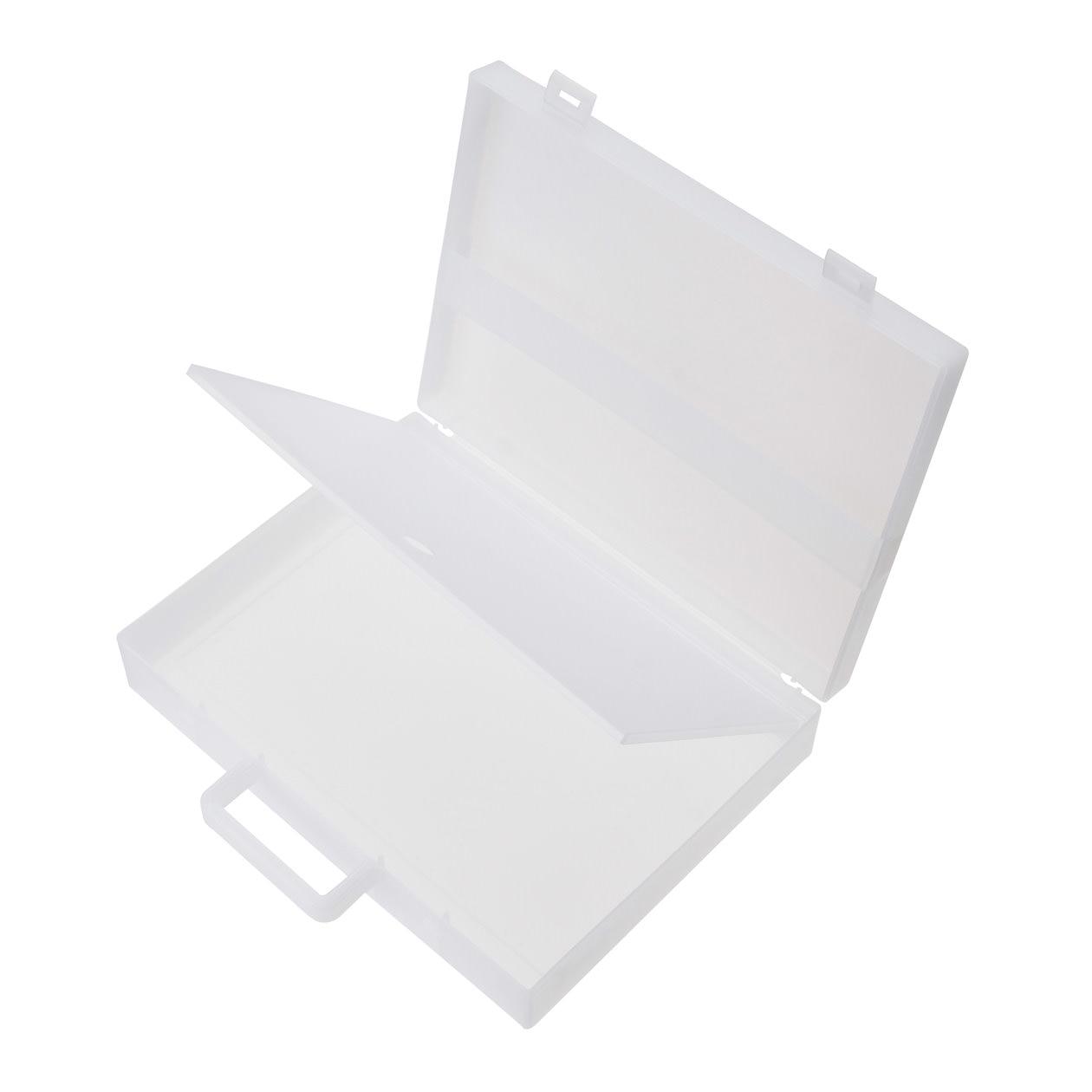 自立収納できるキャリーケース・A4用 約縦28(持ち手含)×横32×厚さ7cm コンビニ受取可