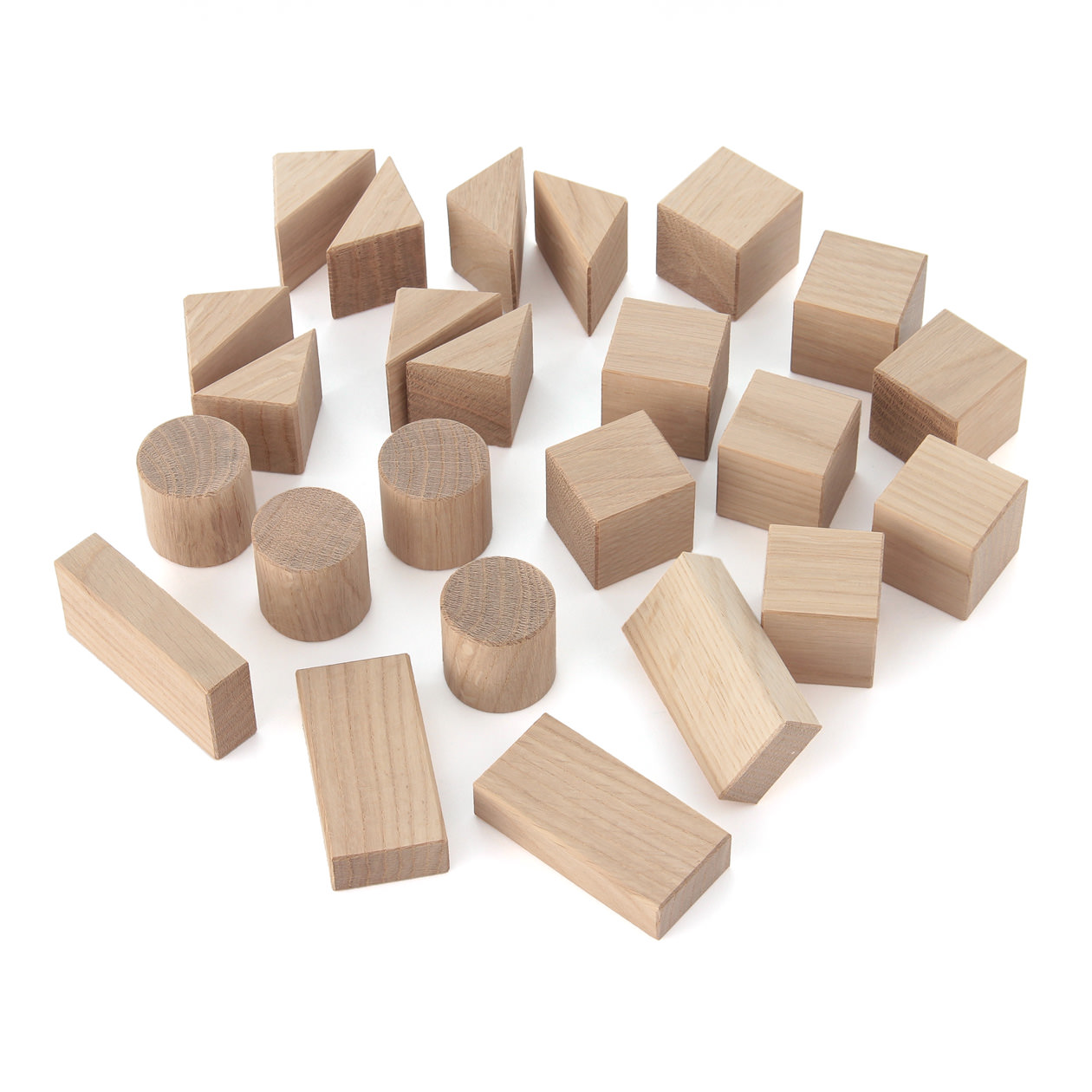 日本の木のおもちゃ なら材のつみき