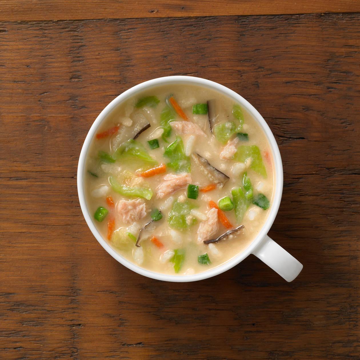 【ネット限定】まとめ買い 小さめごはん 鮭とキャベツの石狩鍋風しめ雑炊