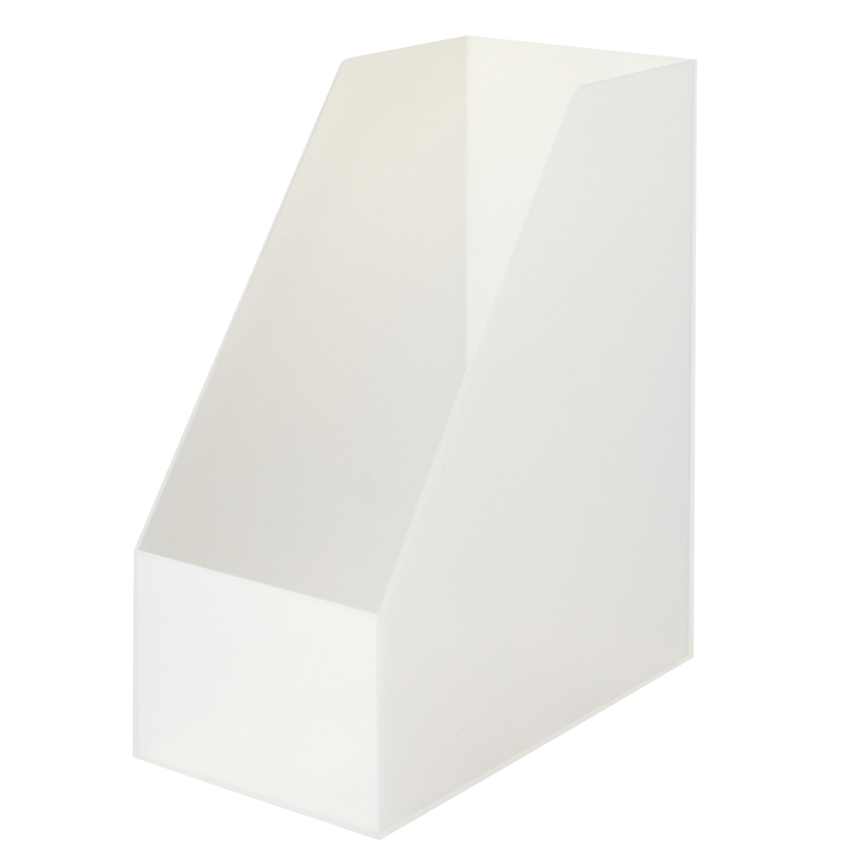【まとめ買い】ポリプロピレンスタンドファイルボックス・ワイド・A4用