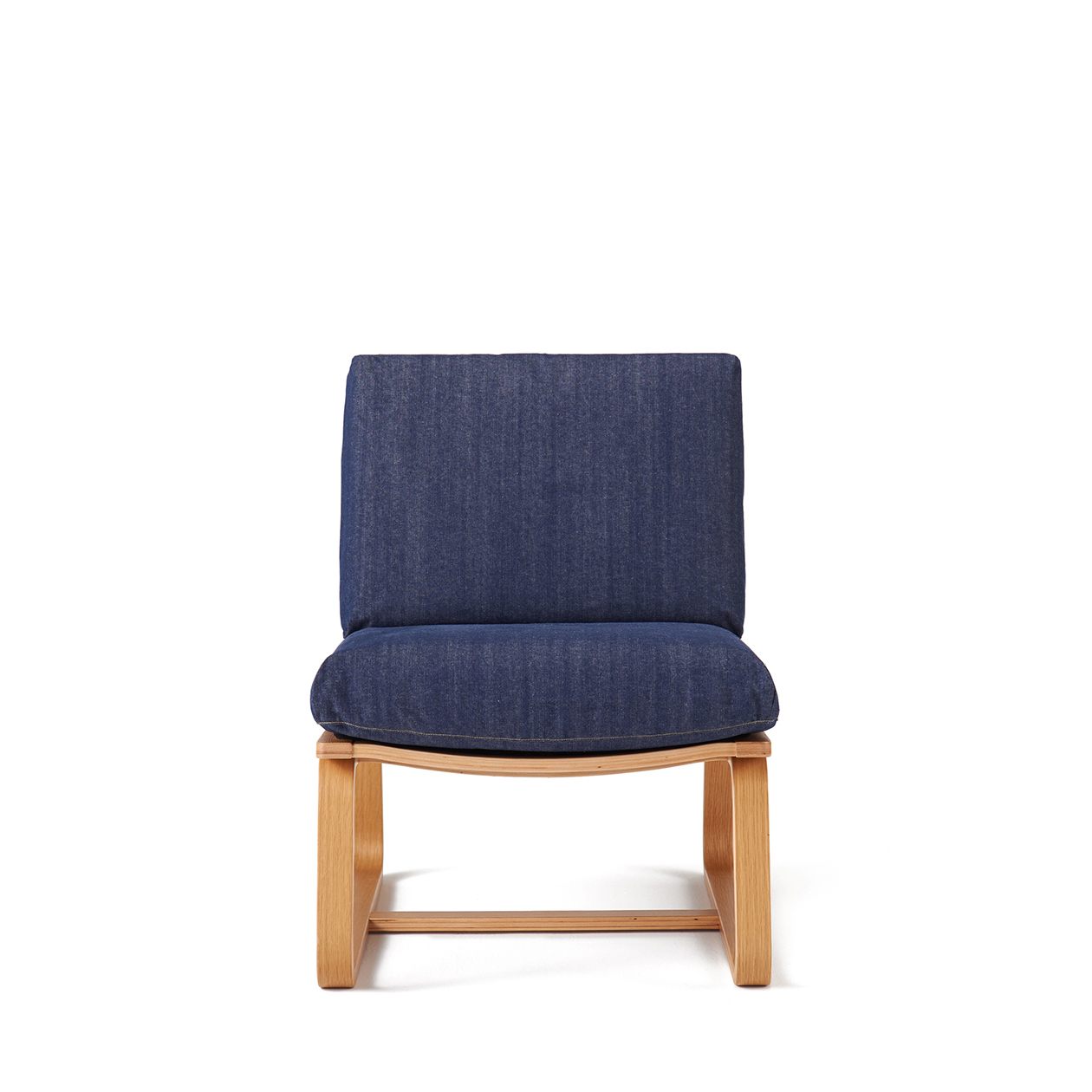 COTTON DENIM COVER FOR LD SOFA CHAIR / BLUE