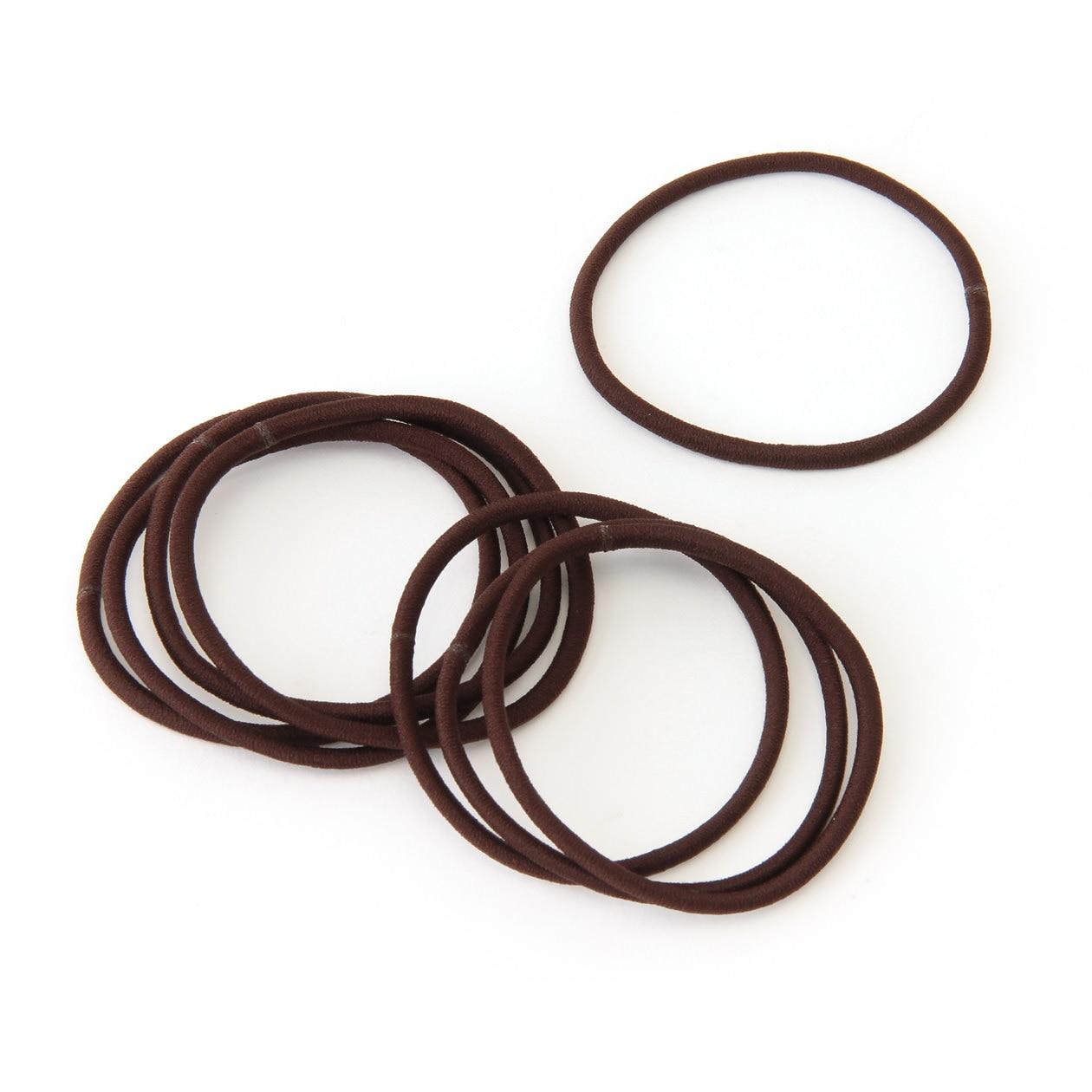 HAIR RUBBER BAND SLIM BROWN  38a6ddee99b