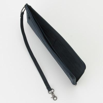 無印良品 | ポリエステルパスポートケース・薄型ネイビー・約23×12cm 通販