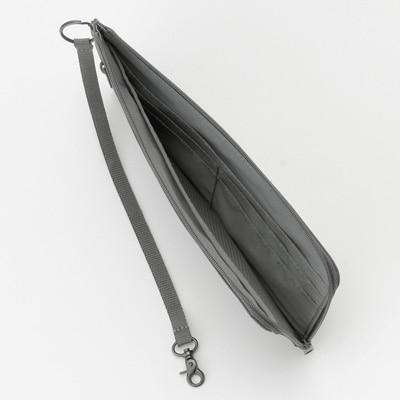 無印良品 | ポリエステルパスポートケース・薄型グレー・約23×12cm 通販