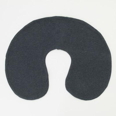 ININUK ネックピロー U型ネック枕 快適 無印シンプル 旅行用枕 低反発 首