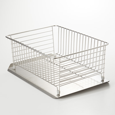 JP New MUJI Stainless Steel Dish Rack L 18x12x7 in
