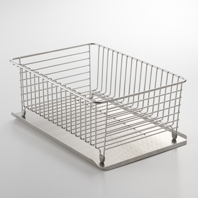 1534faff519a STAINLESS STEEL / SIDE SELECTABLE DISH DRAINER TRAY | MUJI