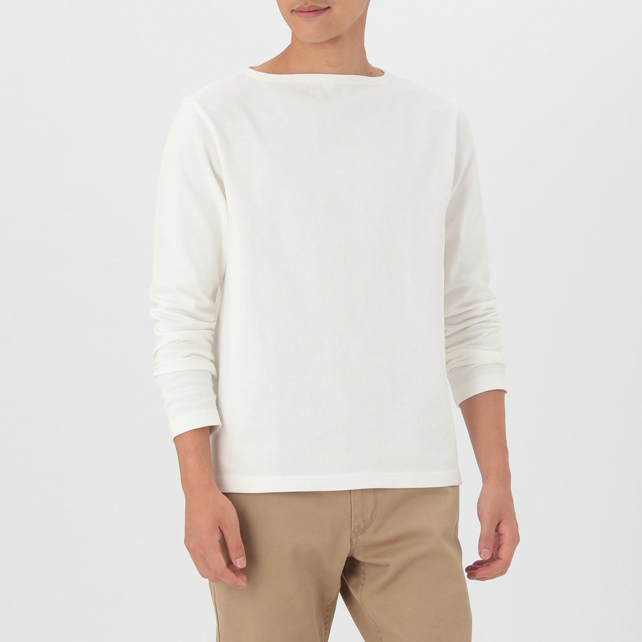 オーガニックコットン太番手長袖Tシャツ