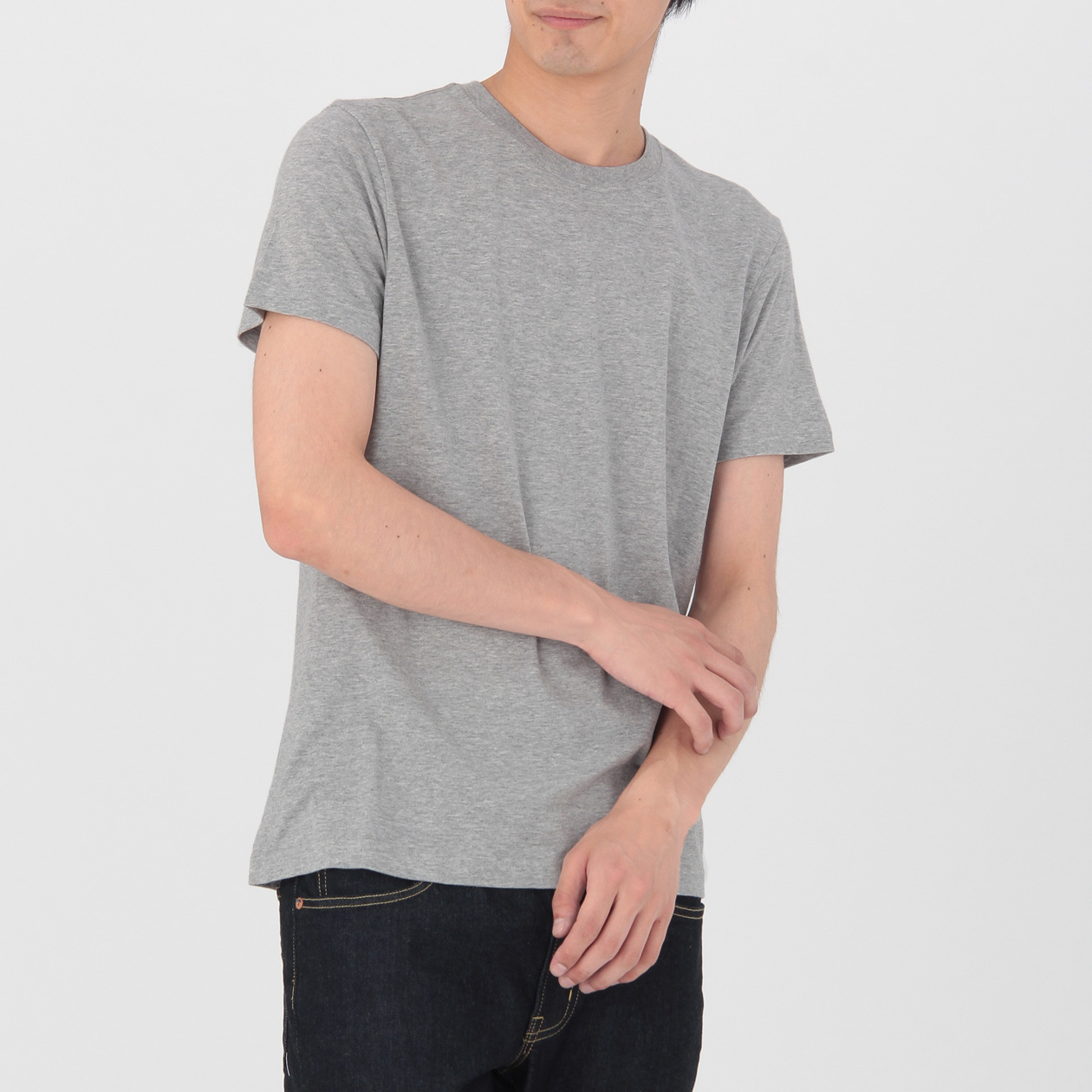 ogc crew neck t shirt 2 pack muji. Black Bedroom Furniture Sets. Home Design Ideas