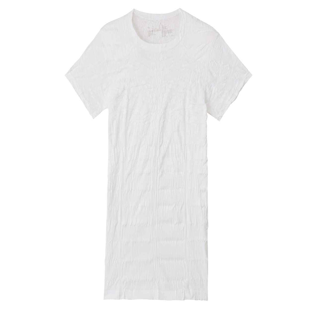 オーガニックコットン圧縮Tシャツ