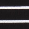 黒×ストライプ