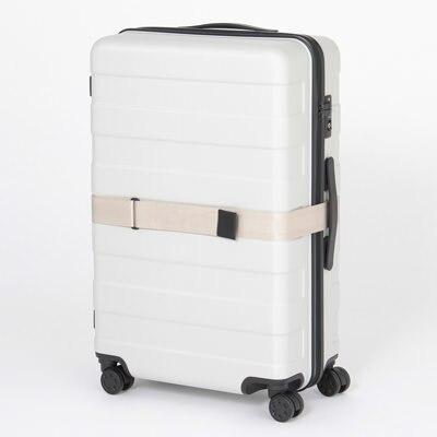 「無印良品」の旅行用ハードキャリー・スーツケース