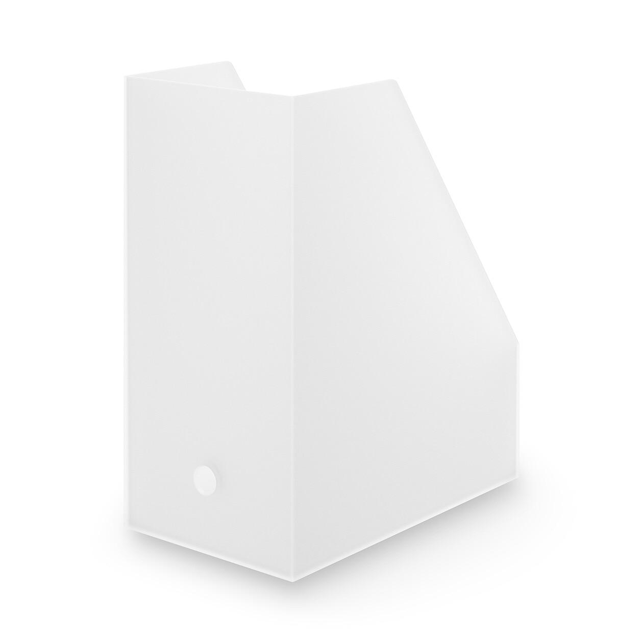ポリプロピレンスタンドファイルボックス・ワイド・A4用