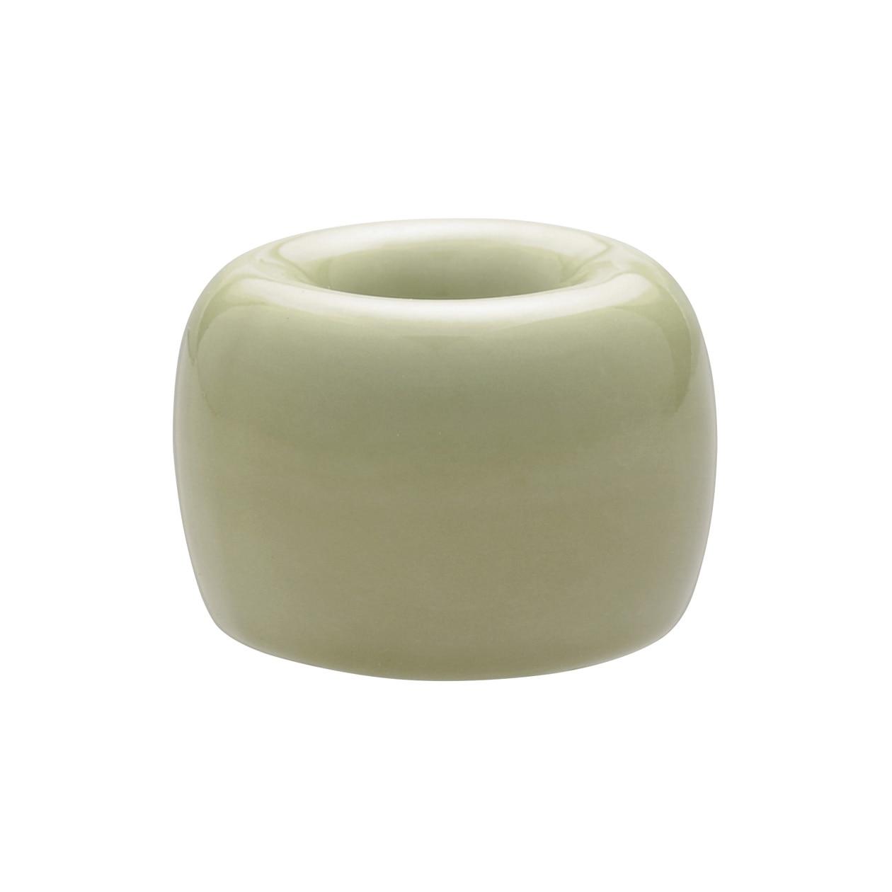 磁器歯ブラシスタンド・1本用 ライトグリーン