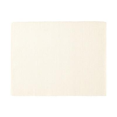 インド綿手織ランチョンマット/アイボリー