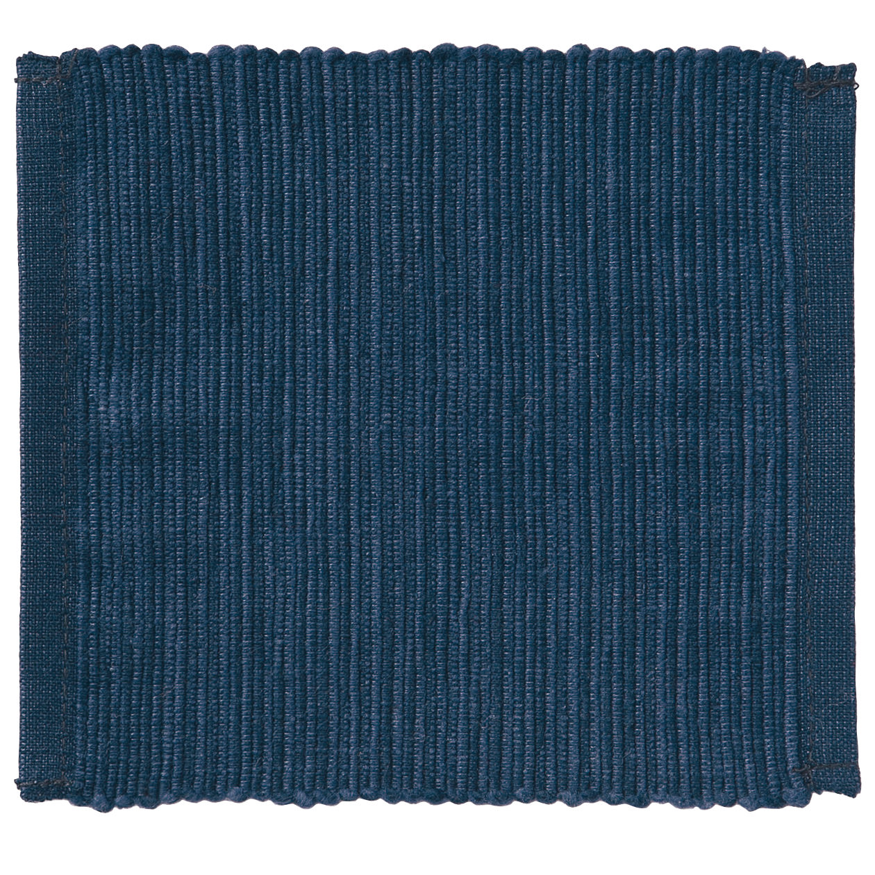 INDIAN COTTON HANDWOVEN COASTER / BLUE