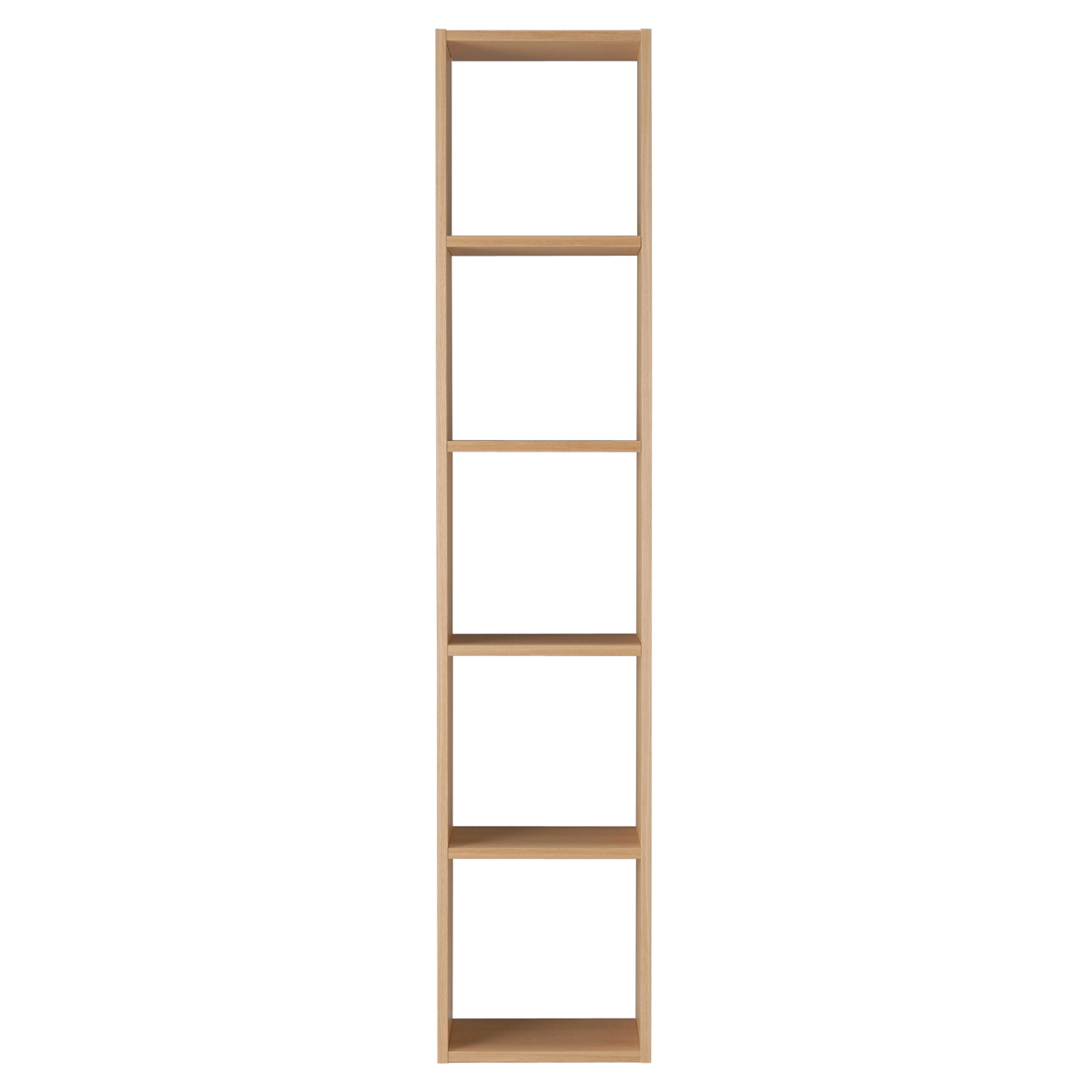 Amazing Stacking Shelf 5 Shelves Oak W42 D28 5 H200Cm Muji Home Interior And Landscaping Dextoversignezvosmurscom