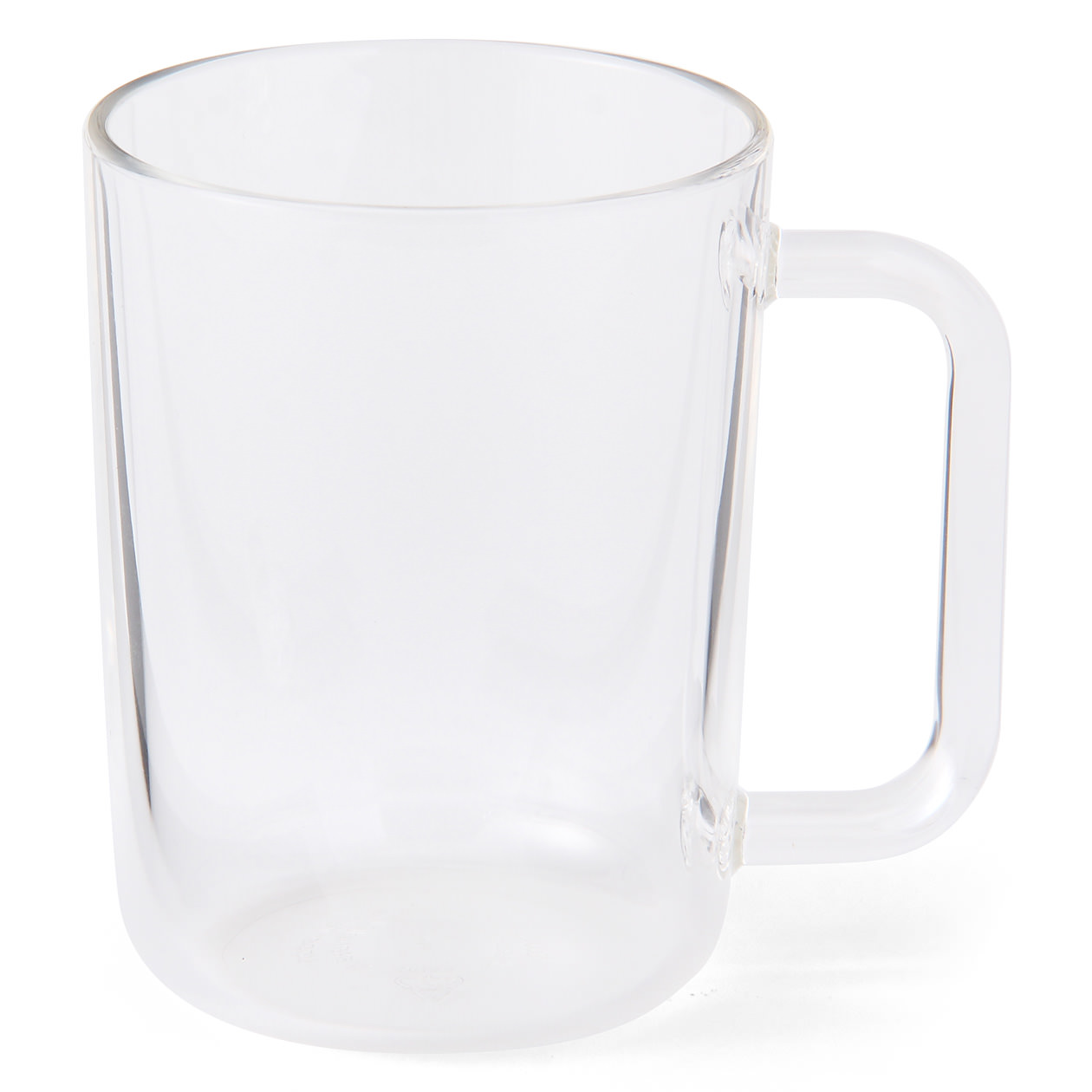 ACRYLIC CUP WITH HANDLE