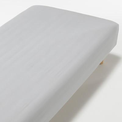RoomClip商品情報 - 綿ポリエステルサテン織ボックスシーツ・SD/グレー