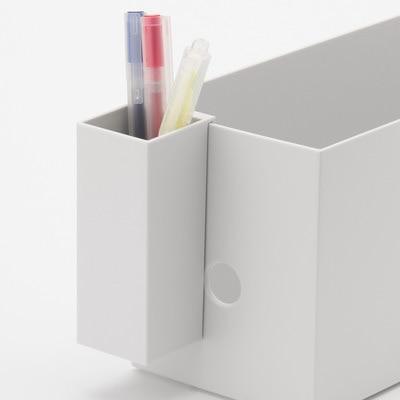 【無印】新作ファイルボックス用ポケットでシンク下のBefore→After!