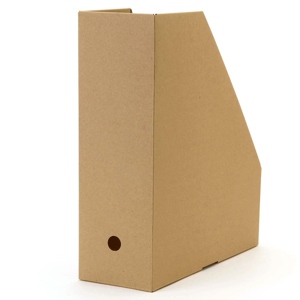 RoomClip商品情報 - ワンタッチで組み立てられるダンボールスタンドファイルボックス・5枚組