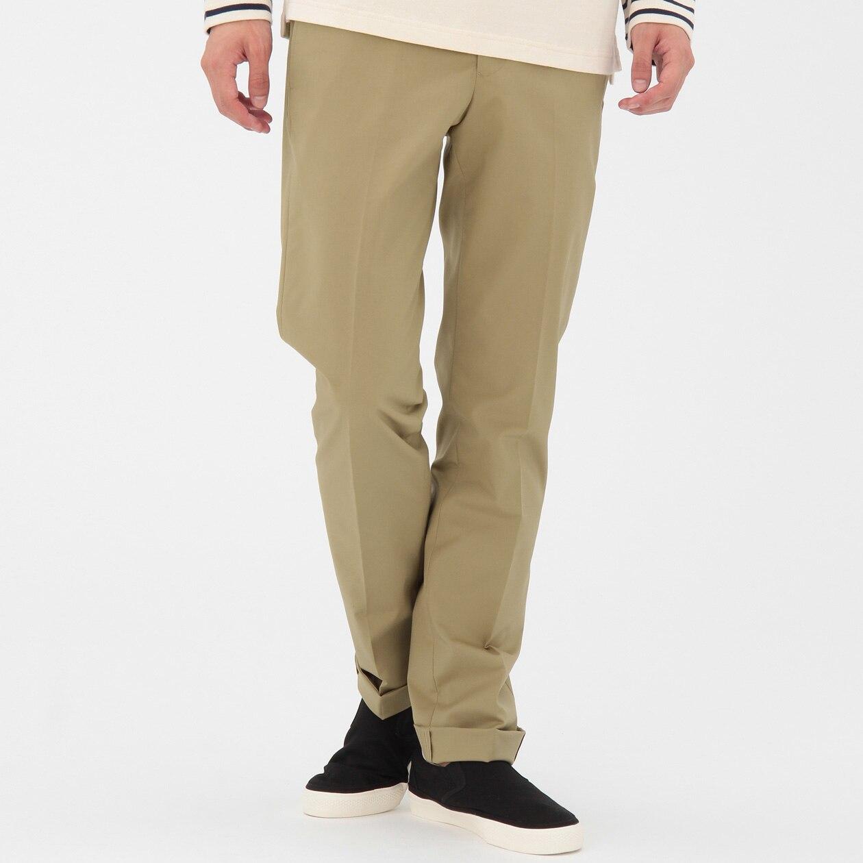 無印良品 綿麻ブロード涼感半袖パジャマ(パンツ前開き)