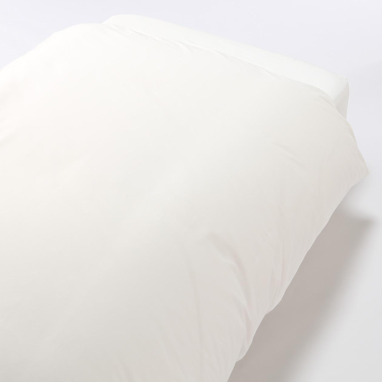 RoomClip商品情報 - オーガニックコットン高密度織掛ふとんカバー・Q/オフ白 Q/オフ白