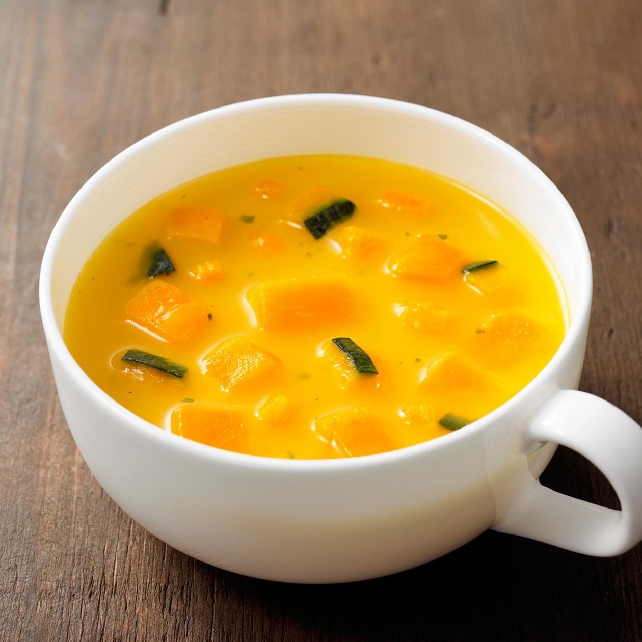 食べるスープ かぼちゃとさつまいものポタージュ