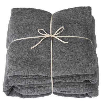 RoomClip商品情報 - パイル寝具セット/グレー・ベッド用