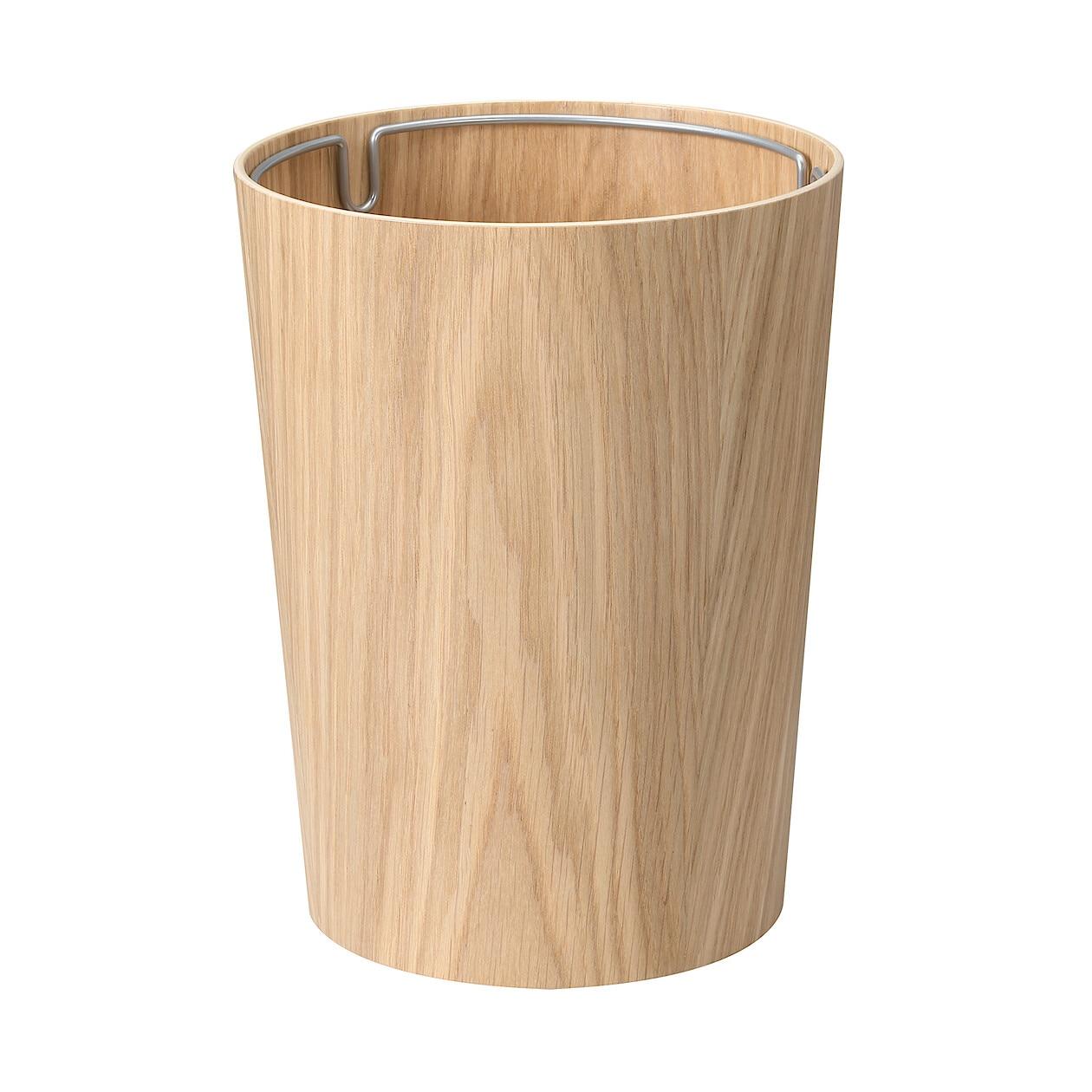 木製ごみ箱・袋止めワイヤー付
